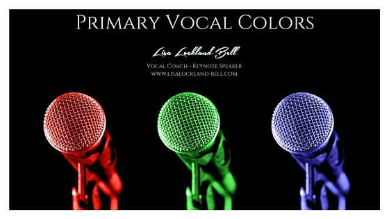 Primary Vocal Colors